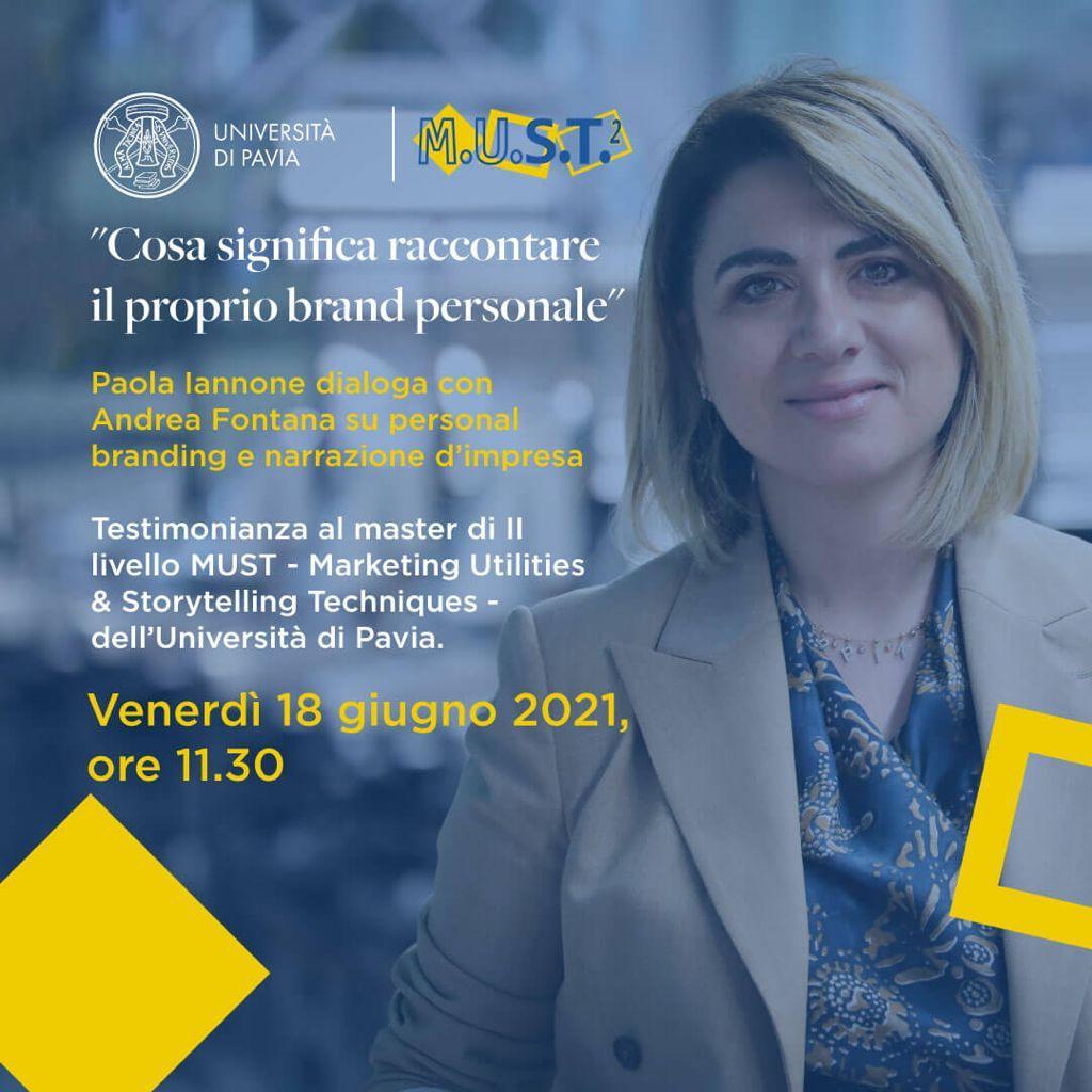 Paola Iannone dialoga con Andrea Fontana